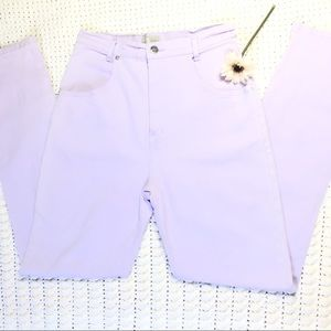 Vintage French Dressing purple mom jeans size 10